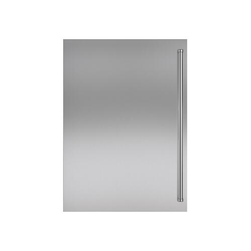 Stainless Steel Dual Flush Inset Door Panel with Pro Handle
