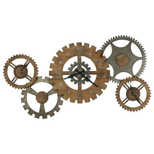 Howard Miller Cogwheel III Gallery Wall Clock 625727