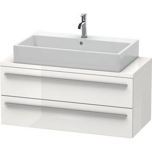 Vanity Unit For Console Compact, White High Gloss (lacquer)