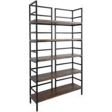 Stanton Bookshelf Light Brown 48""