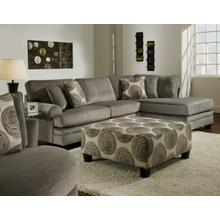 Groovy Smoke 2PC RAF Chaise Sectional