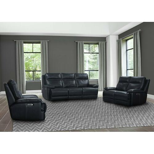 PAXTON - NAVY Power Reclining Collection