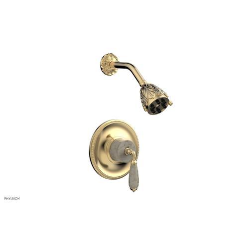 Phylrich - VALENCIA Pressure Balance Shower Set PB3338D - Satin Brass