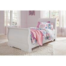 Anarasia - White 3 Piece Bed (Twin)