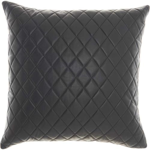 """Couture Nat Hide Pd031 Black 20"""" X 20"""" Throw Pillow"""