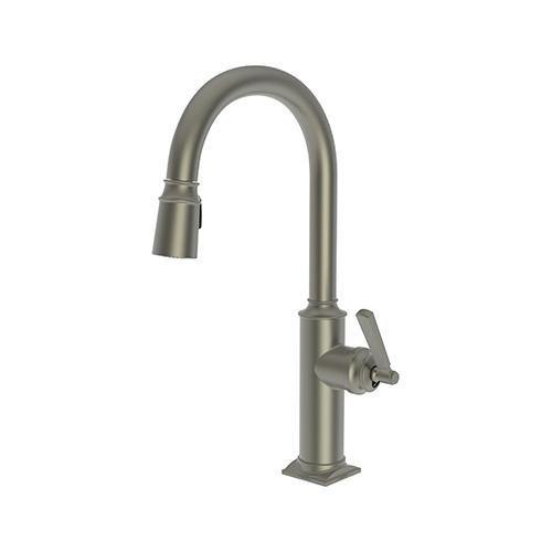 Newport Brass - Gun Metal Pull-down Kitchen Faucet