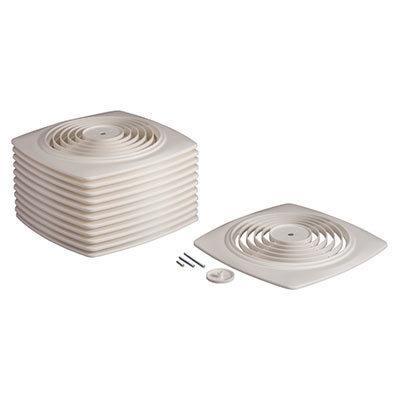 BroanBroan® 8-Inch Utility Fan Grille/cover W/ Knob, White