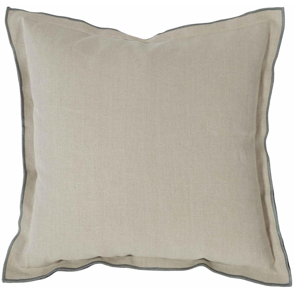 """See Details - Luxe Pillows Contrast Flange (22""""x22"""")"""