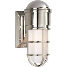 E. F. Chapman Marine 1 Light 5 inch Polished Nickel Bath Wall Light