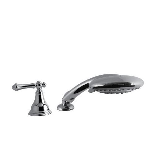Santec - Deck Mount Multifunction Hand Shower in Polished Chrome