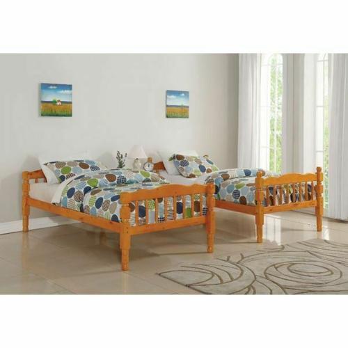 Acme Furniture Inc - ACME Homestead T/T Bunk Bed - HB/FB - 02301 - Honey Oak