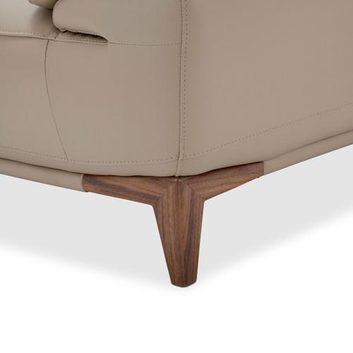 Turano Leather Match Chair