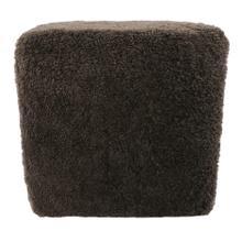 Shepherd Wool Stool Grey