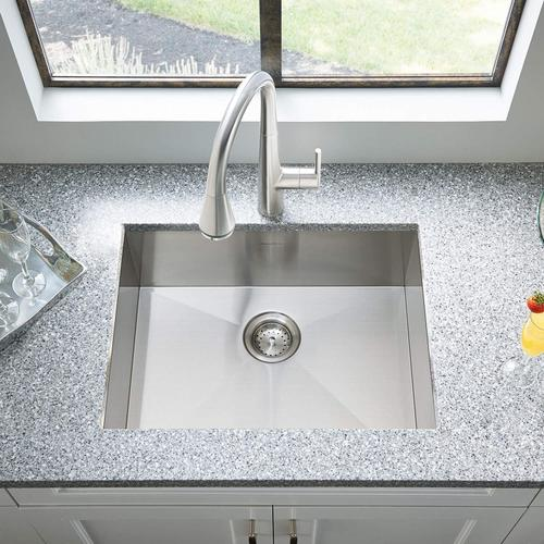 American Standard - Edgewater Pull-Down Kitchen Faucet with SelectFlo - Polished Chrome