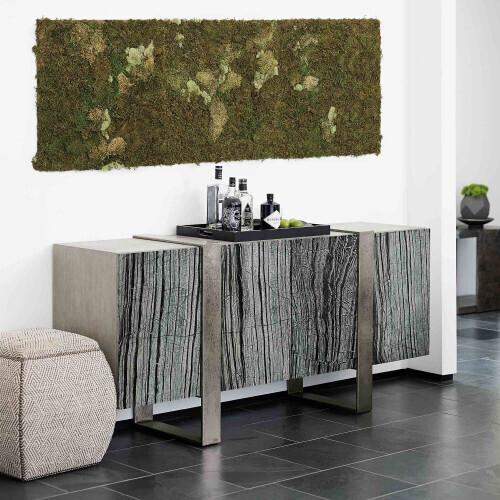 Product Image - Linea Entertainment Console in Black Forest Marble (384)