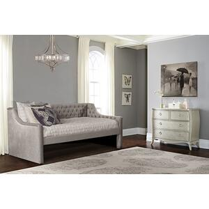 Jaylen Complete Twin-size Daybed, Silver