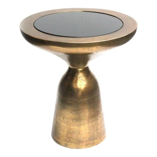 Moe's Home Collection - Oracle Accent Table Large Antique Brass
