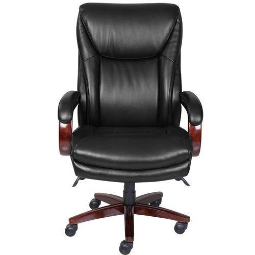 Gallery - Edmonton Big & Tall Executive Office Chair, Black