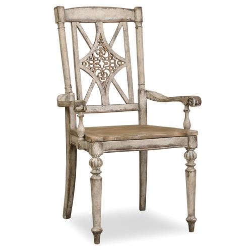 Hooker Furniture - Chatelet Fretback Arm Chair - 2 per carton/price ea