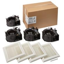 """See Details - Broan-NuTone® Wall Vent Kit, 3"""" or 4"""" Round Duct"""