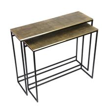 See Details - Cassidy Console Tables Set of 2