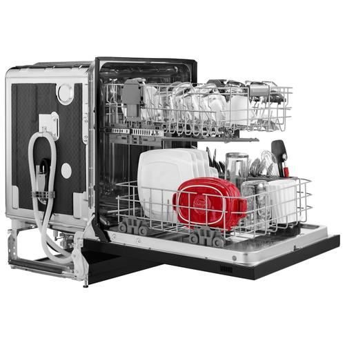 46 DBA Dishwasher with ProWash , Front Control Black