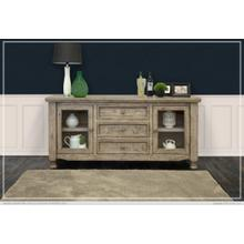 See Details - 3 Drawer, 2 Door, Buffet Gray Finish