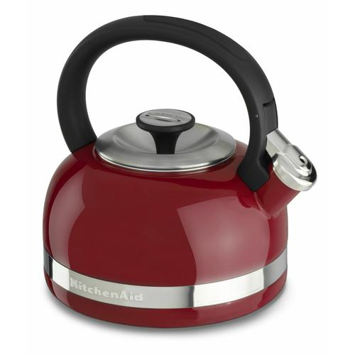 KitchenAid Canada - 2.0-Quart Kettle with Full Handle and Trim Band - Empire Red