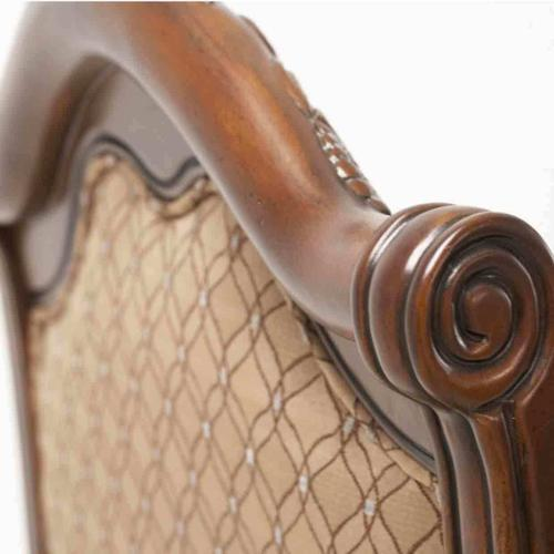 Fabric/leather Side Chair