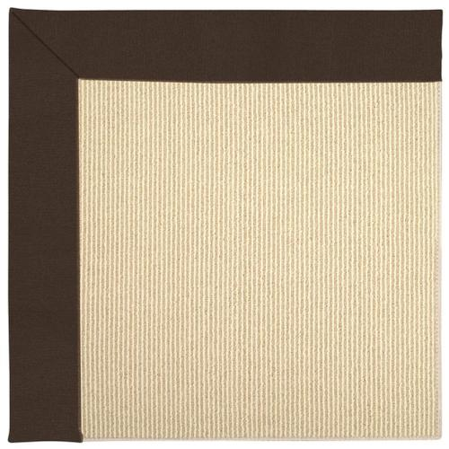 "Creative Concepts-Beach Sisal Canvas Bay Brown - Rectangle - 24"" x 36"""
