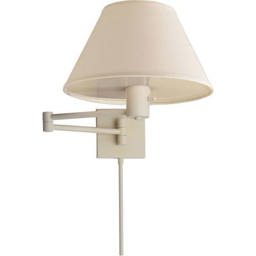 Visual Comfort - Studio Classic 25 inch 75.00 watt Plaster White Swing-Arm Wall Light