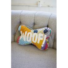 See Details - woof kantha bone pillow