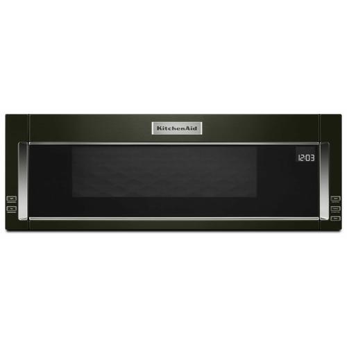 KitchenAid - 1000-Watt Low Profile Microwave Hood Combination with PrintShield™ Finish - Black Stainless Steel with PrintShield™ Finish