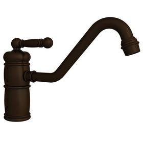 Oil Rubbed Bronze - Hand Relieved Single Handle Kitchen Faucet