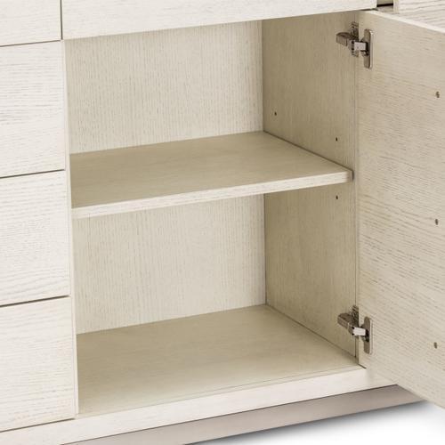 Amini - Storage Console- Dresser W/mirror (2pc)