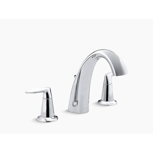 Kohler - Vibrant Brushed Nickel Bath Faucet Trim With Diverter, Valve Not Included