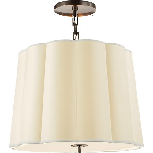 Visual Comfort - Barbara Barry Simple 5 Light 25 inch Bronze Hanging Shade Ceiling Light