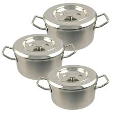 AGA Stainless Steel Casserole Set