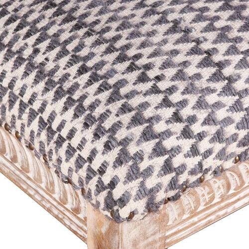 "Product Image - Marrakech Large Gray Ottoman 48"""