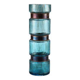 See Details - Ring Vase Large Blue