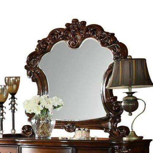 ACME Vendome Mirror - 22004 - Cherry