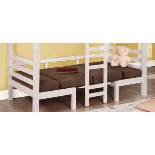 Casual Chocolate Loft Bunk Bed