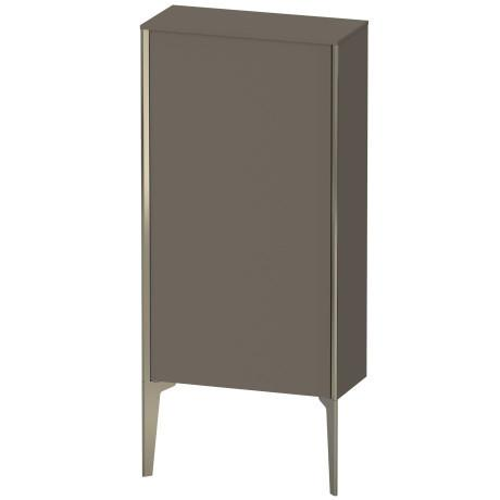Product Image - Semi-tall Cabinet Floorstanding, Flannel Gray Satin Matte (lacquer)