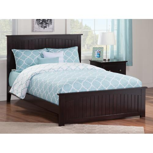 Nantucket Full Bed with Matching Foot Board in Espresso