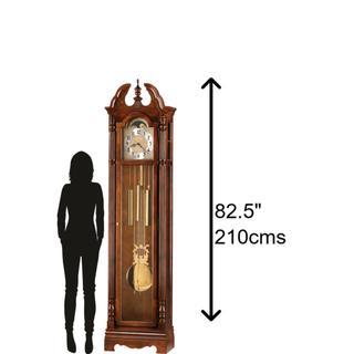 See Details - Howard Miller Jonathan Grandfather Clock 610895