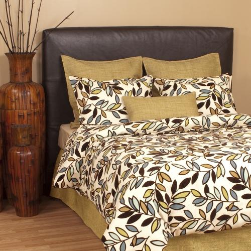 Twin Slipcovered Headboard Avanti Pecan (Base and Cover Included)
