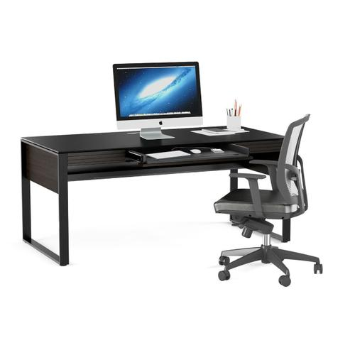 Desk 6521 in Charcoal Stained Ash