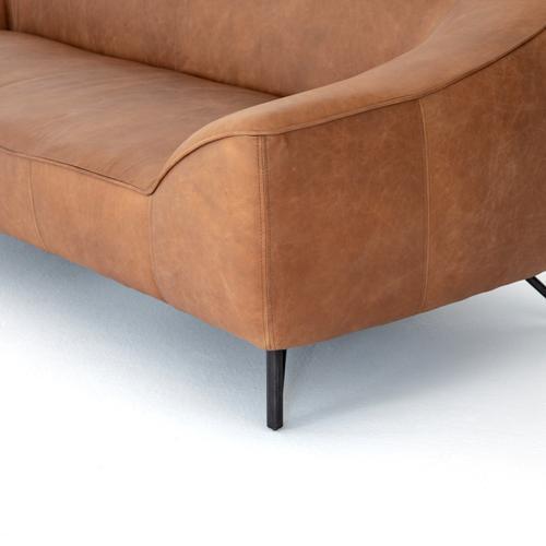 """Thompkins Sofa-94""""-natural Washed Camel"""