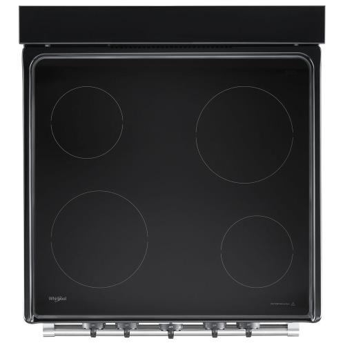 Whirlpool Canada - 24-inch Freestanding Electric Range with Upswept SpillGuard™ Cooktop