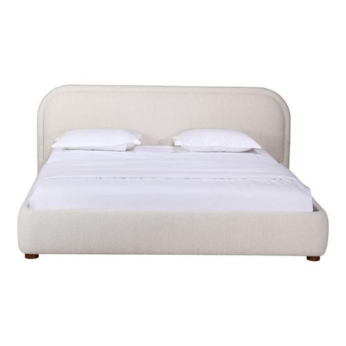 Moe's Home Collection - Colin King Bed Oatmeal